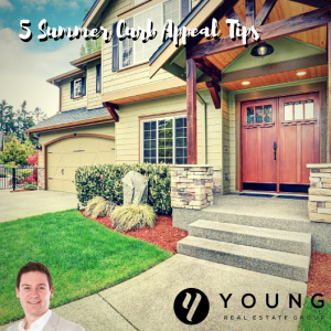 Top 5 Summer Curb Appeal Tips